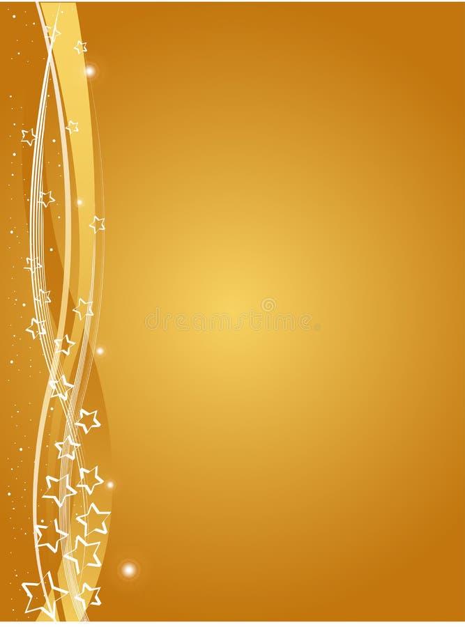 background christmas gold ελεύθερη απεικόνιση δικαιώματος