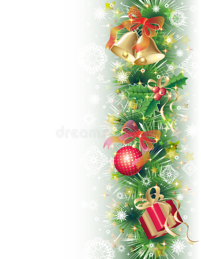 Download Background With Christmas Symbols Stock Vector - Image: 17172827