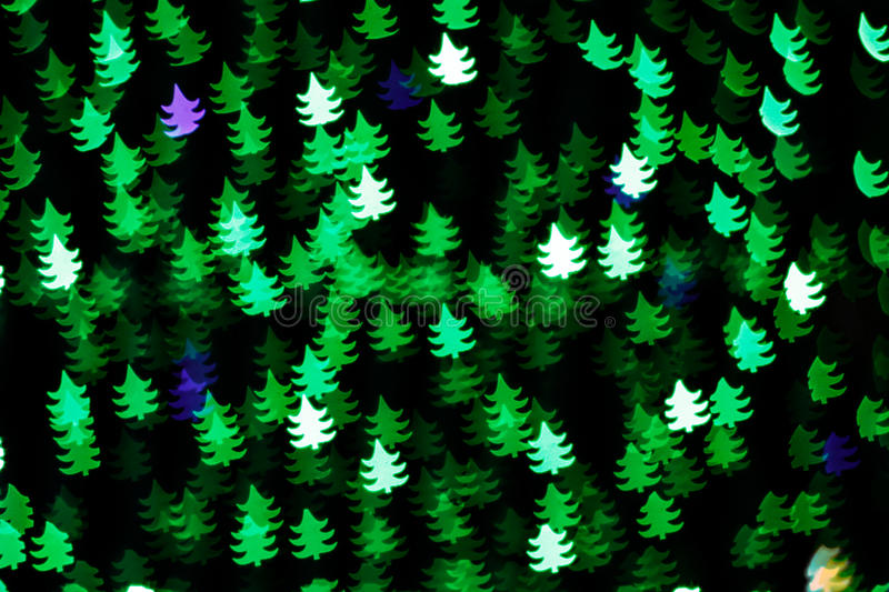 Background of Christmas trees stock photos