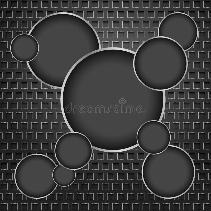 Background of the circles royalty free illustration