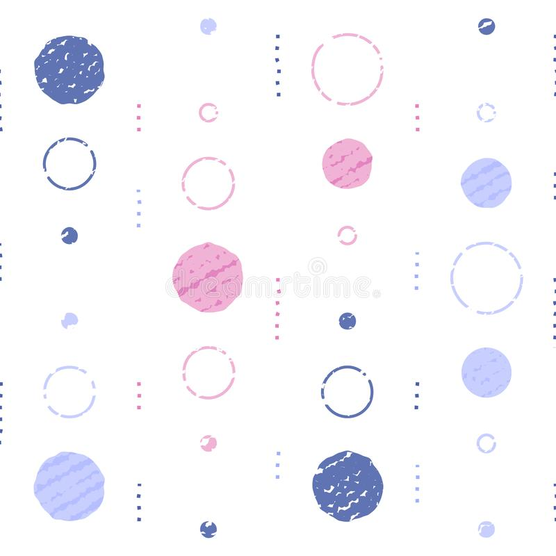 Subtle grunge texture, background with circles, vintage abstract backdrop, minimalist pattern, festive decoration. Background with circles, vintage abstract vector illustration