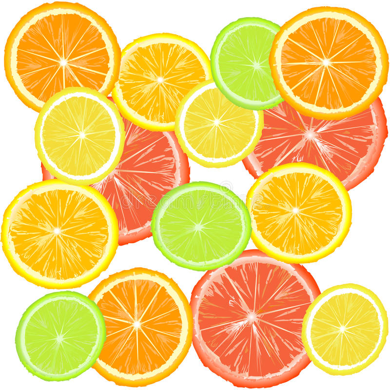 Download Background With Citric Fruits Royalty Free Stock Photos - Image: 20178468