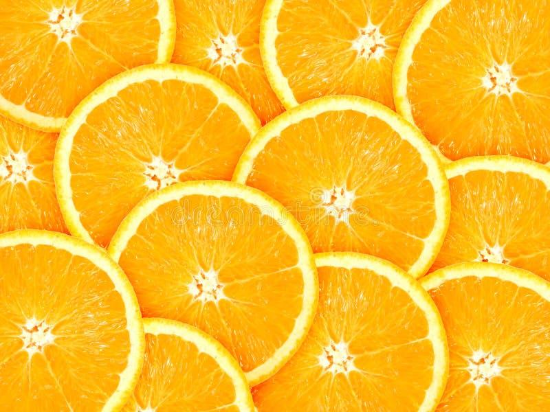 Background with citrus-fruit of orange slices royalty free stock photography