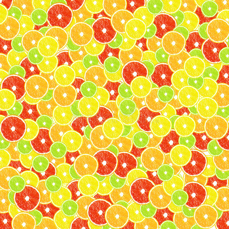 Background of citrus (lemon, lime, orange, grapefruit) royalty free stock images