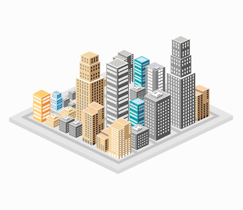 Download Background of the city stock photo