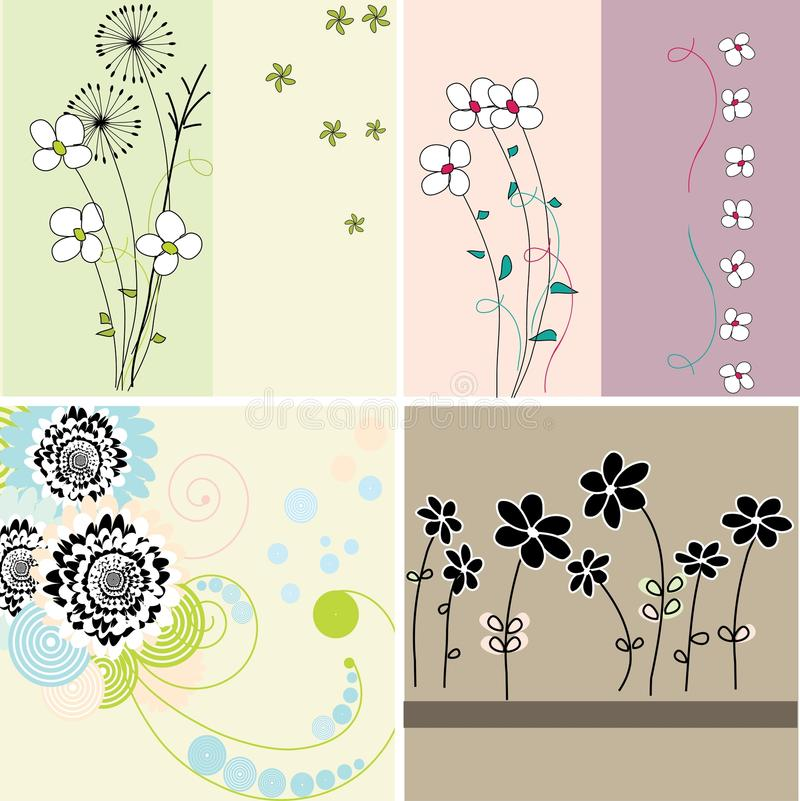 Background collection stock illustration