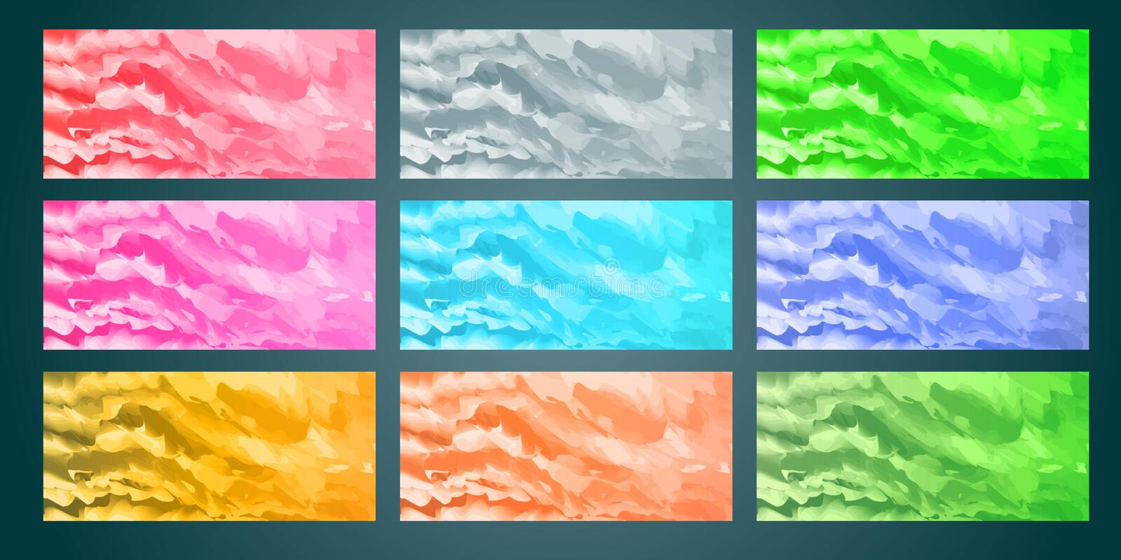Background collection watercolor concept. EPS10. Background collection with watercolor concept royalty free illustration