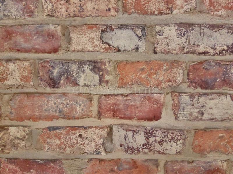 Background colored bricks wall royalty free stock photography
