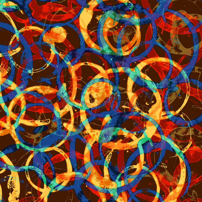 Download Background Of Colored Rings Stock Image - Image: 26580459