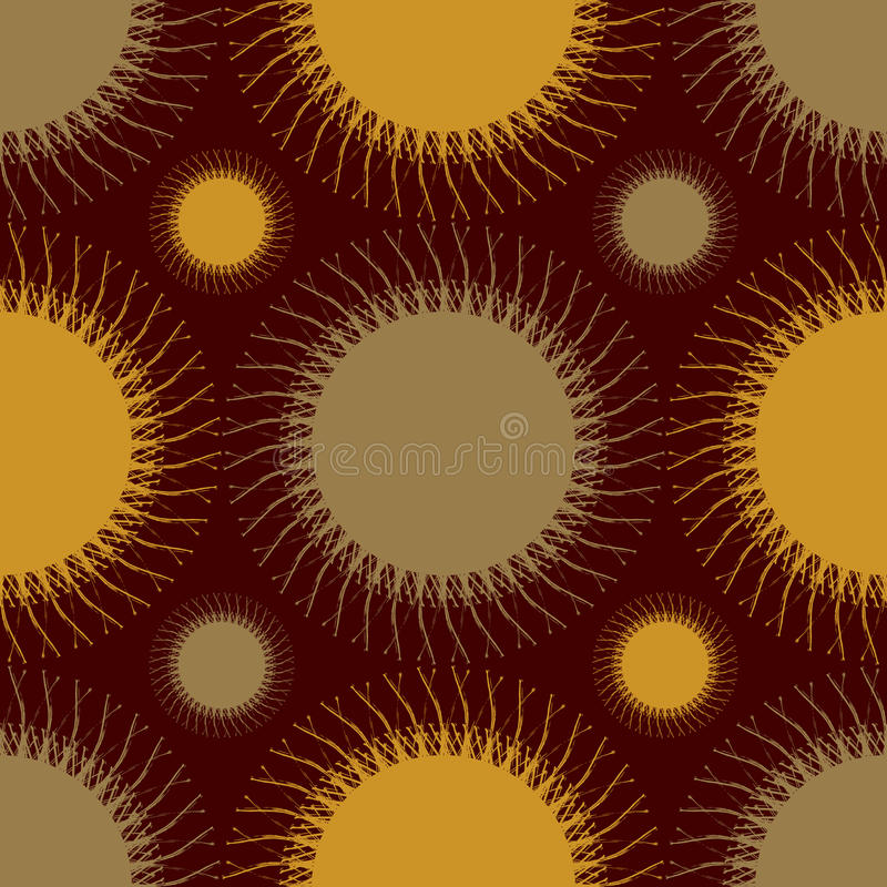 Background colored spikes vector illustration