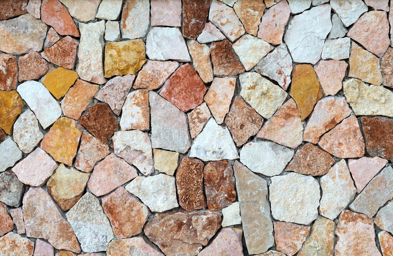 Background of colored stones stock photography