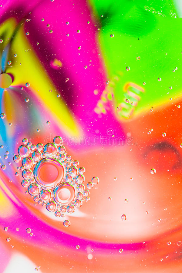 Background Colorful Blur. And bubble stock image
