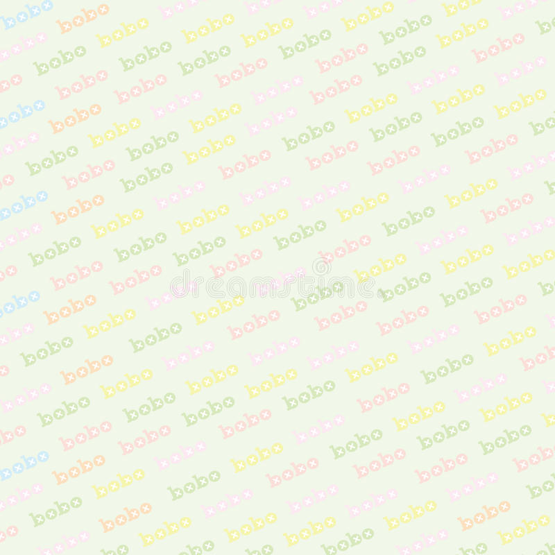 Download Background Of Colorful Bobo Stock Illustration - Image: 34160659