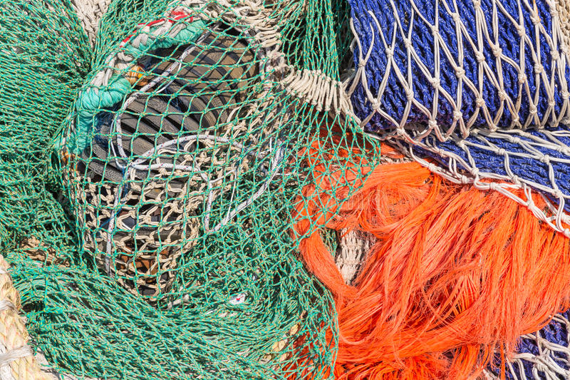 Download Background Of Colorful Fishing Nets Stock Image - Image of boat, nautical: 39506433