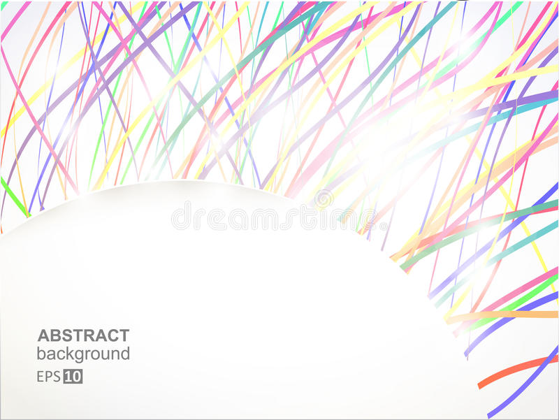 Download Background. Colorful Shine Lines Stock Vector - Image: 21838036