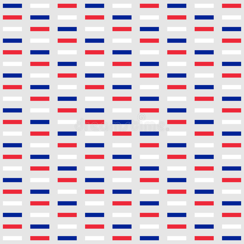 Background in colors of national flag of France stock illustration
