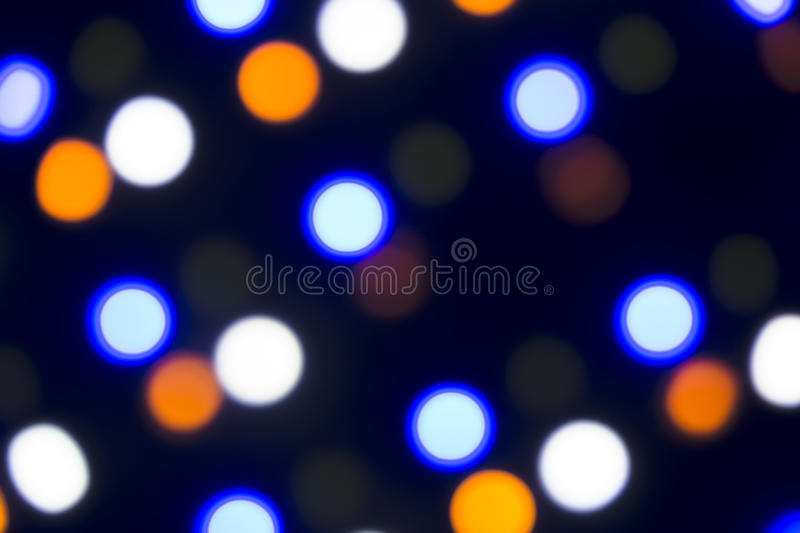 Background: Coloured Leds Bokeh. Various colored LED lights shot out of focus to create a nice bokeh effect. Suitable for backgrounds to our projects stock image