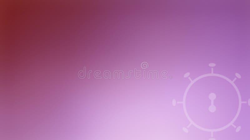 Background concept coronavirus COVID-19 violet tone royalty free stock photography