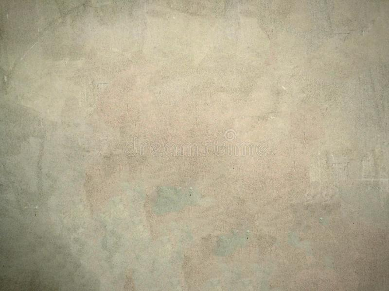 Concrete wall and floor - Room interior royalty free stock photo