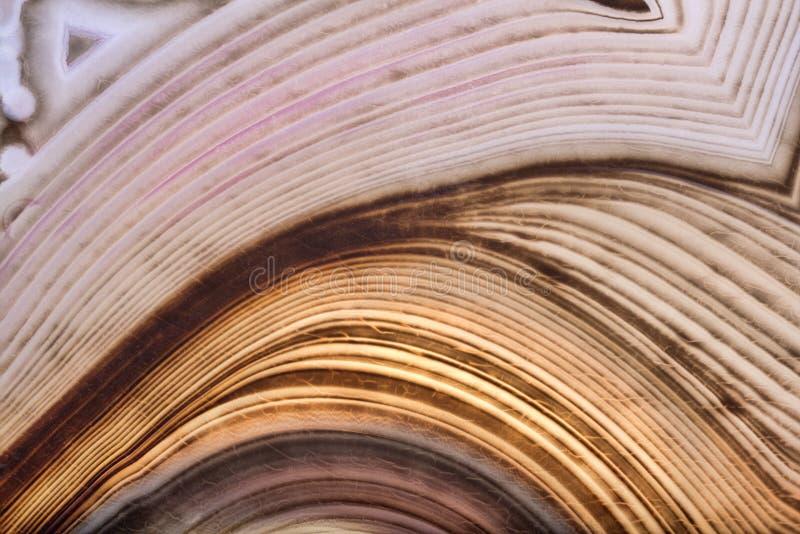 Contrast agate dark anl light brown structure. Background with contrast agate structure stock photos