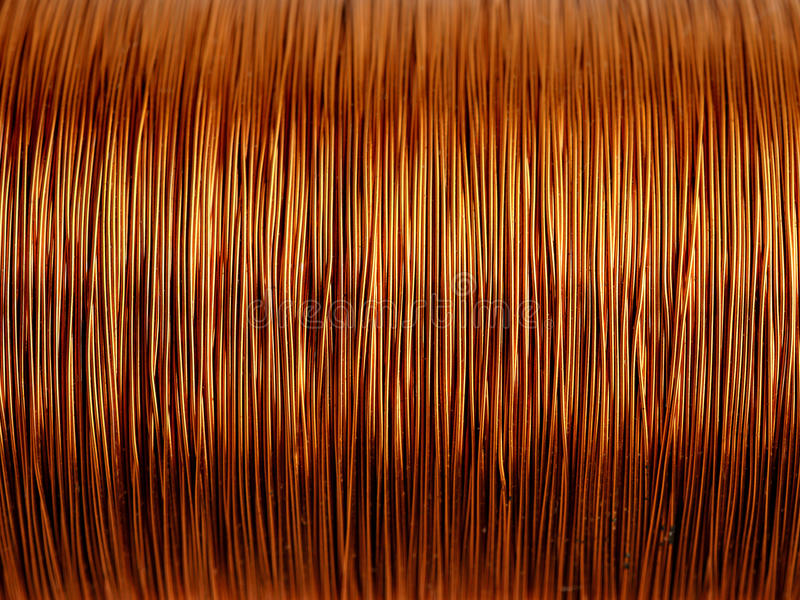 Download Background of copper wire stock image. Image of technology - 22416717