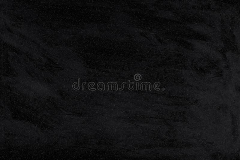 Background of cracked black washed paint. Texture of old wall. stock image