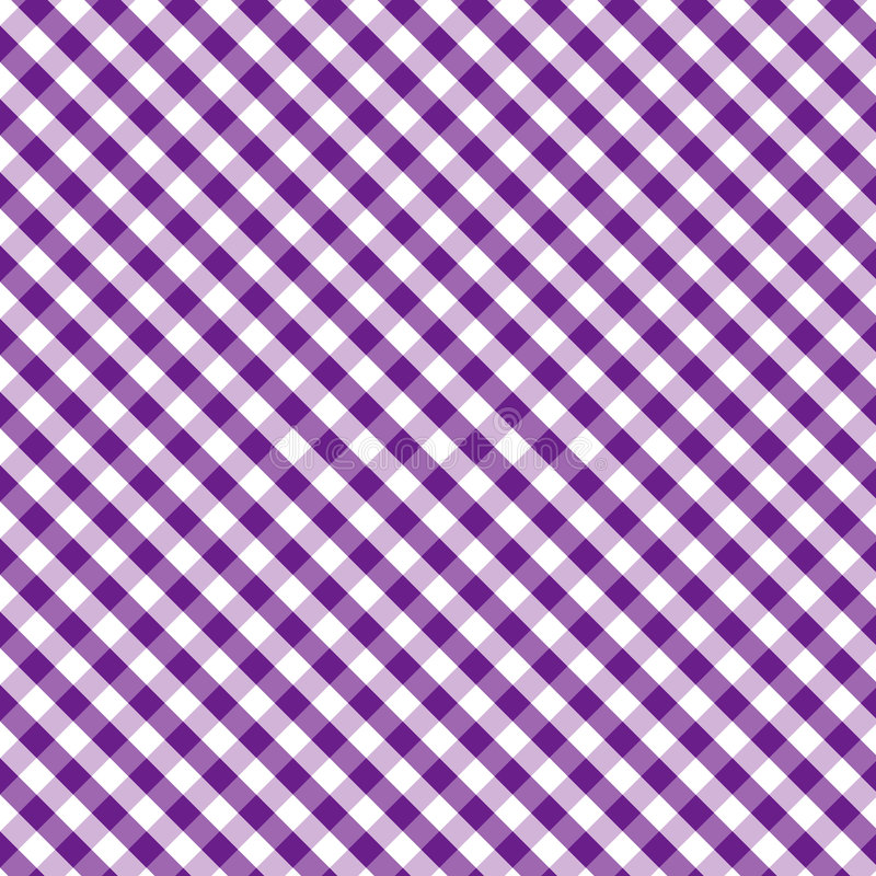 background cross gingham purple seamless weave ilustracja wektor