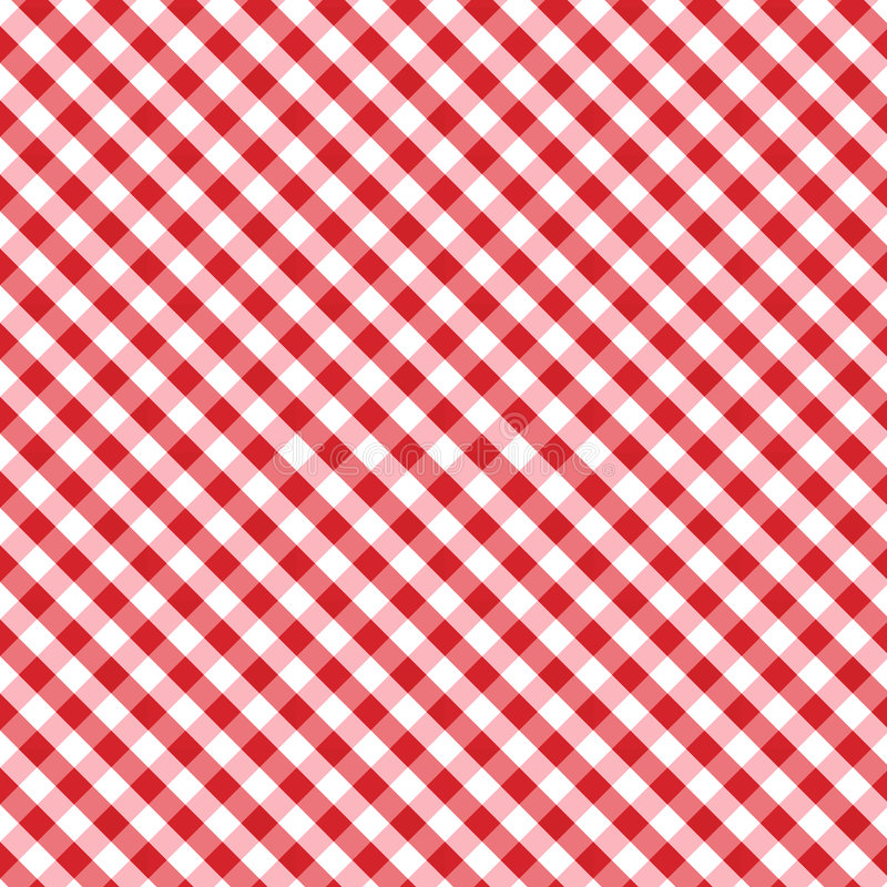background cross gingham red seamless weave 皇族释放例证