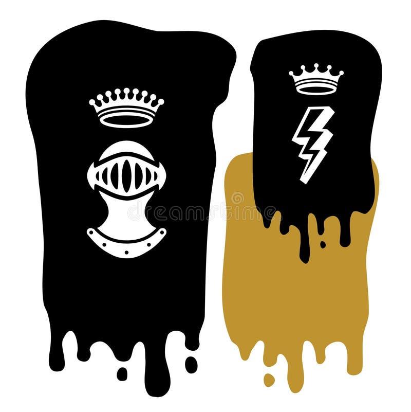 Download Background Crowns stock vector. Illustration of emblem - 3247404