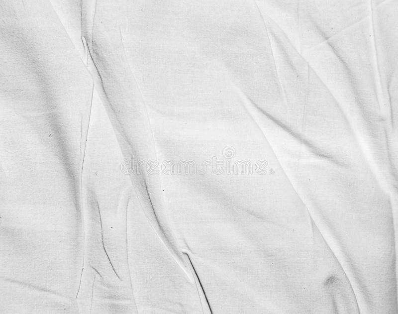 Background of crumpled white tissue royalty free stock image