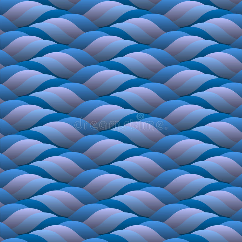 Download Background Of Curled Blue Waves Stock Vector - Image: 24244502