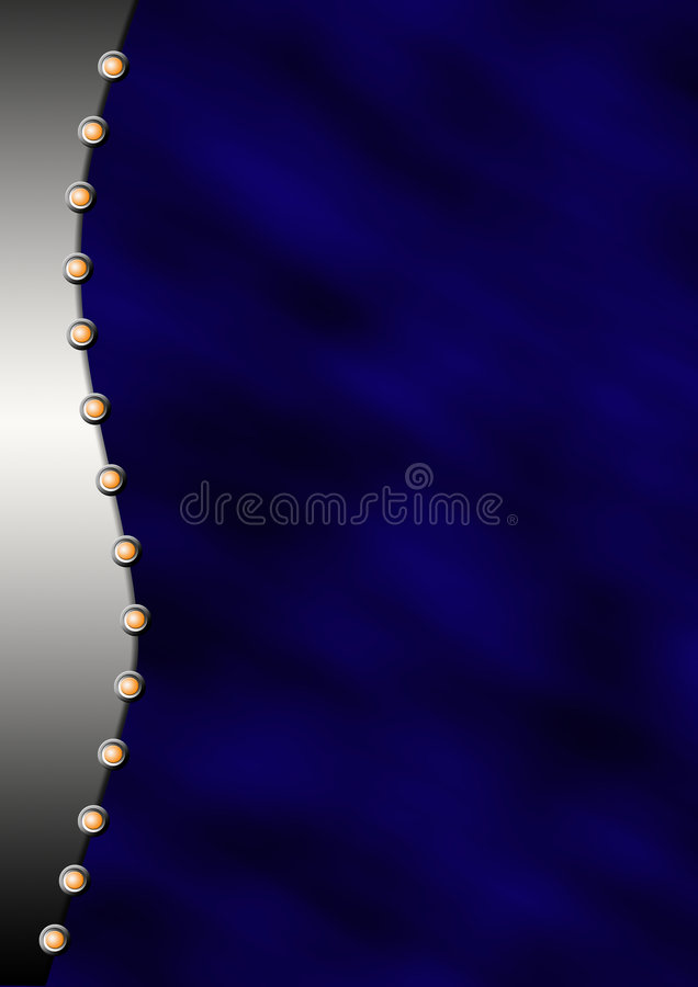 Download Background With Curved Border Stock Illustration - Image: 5431996