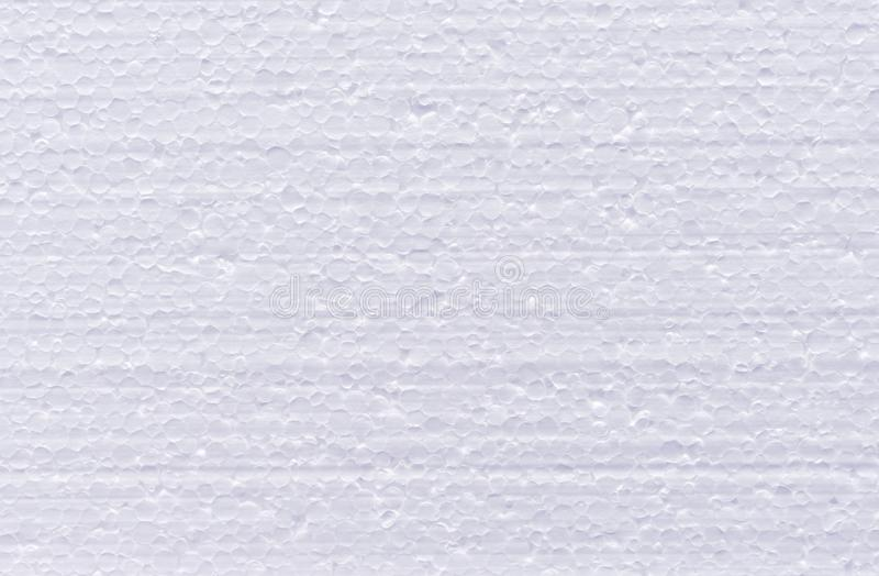 Background from cut of white foamed polystyrene.  stock photography