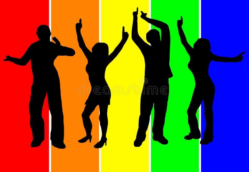 background dancers ελεύθερη απεικόνιση δικαιώματος