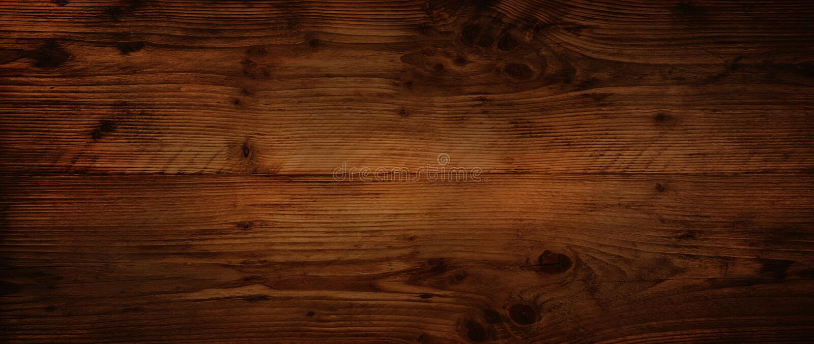 Dark rustic wood surface. Background with dark rustic wood surface for a decoration royalty free stock photography
