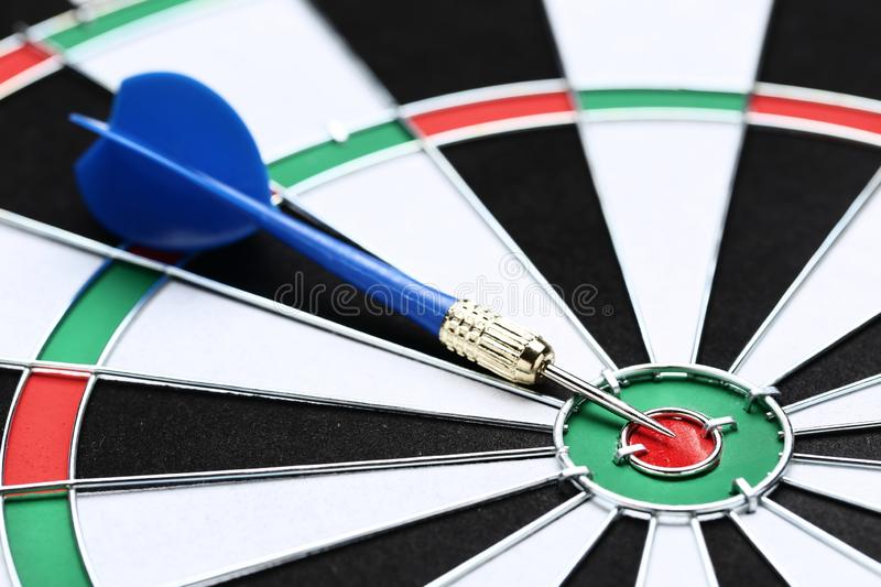 Dartboard with darts. Background of dartboard with darts stock photography