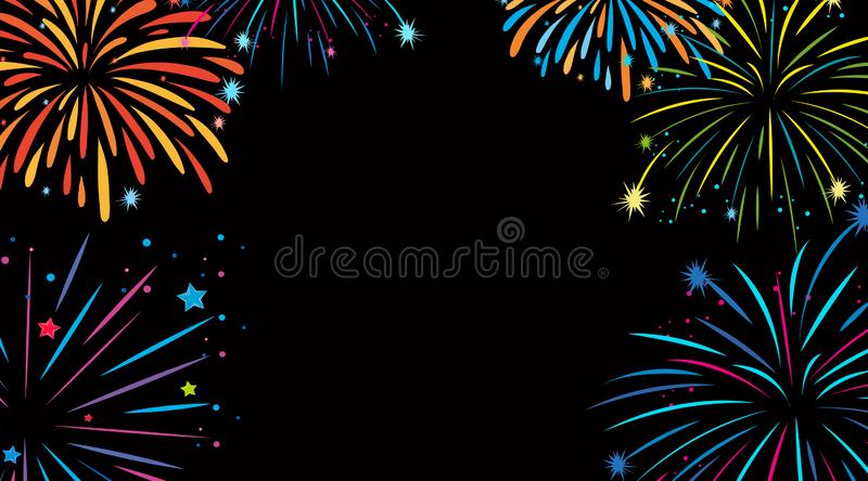 Pin by Kelly A. on 4th of July | Fireworks clipart, Fireworks art, How to  draw fireworks