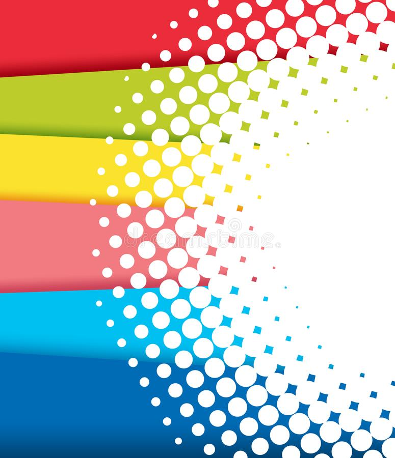 Background design with rainbow shades vector illustration