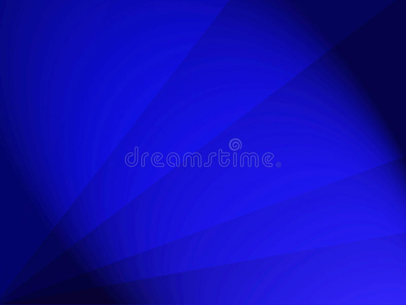 Background design royal blue with rays and dark edges royalty free illustration