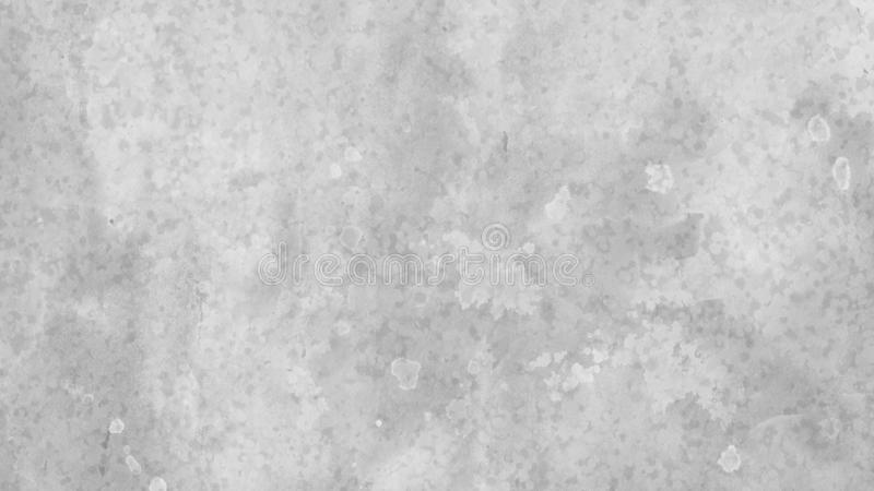 Background design in white and gray with blotchy watercolor wash and fringe bleed design from paint spatter drips and drops royalty free illustration