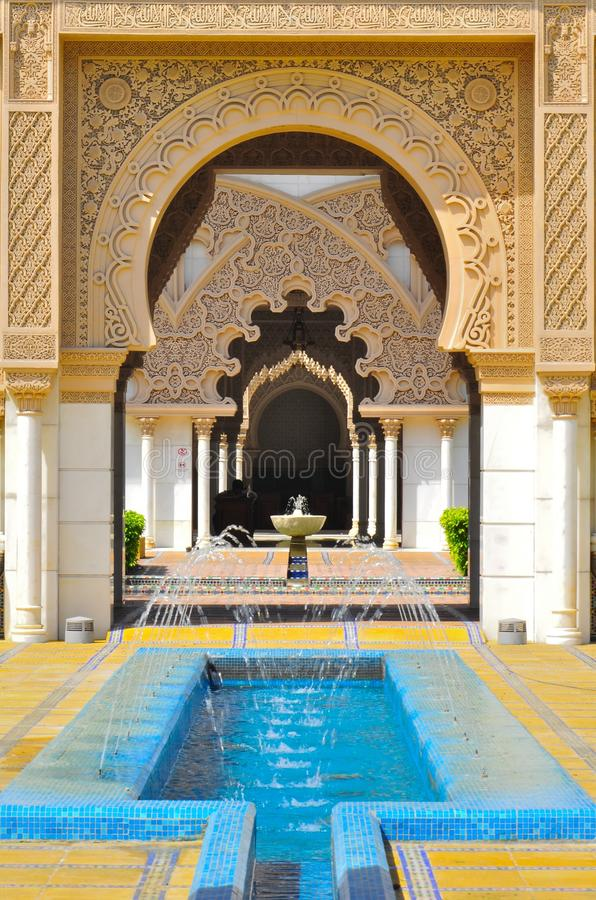 Download Background Of Detail Islamic Architecture Royalty Free Stock Photos - Image: 35611418