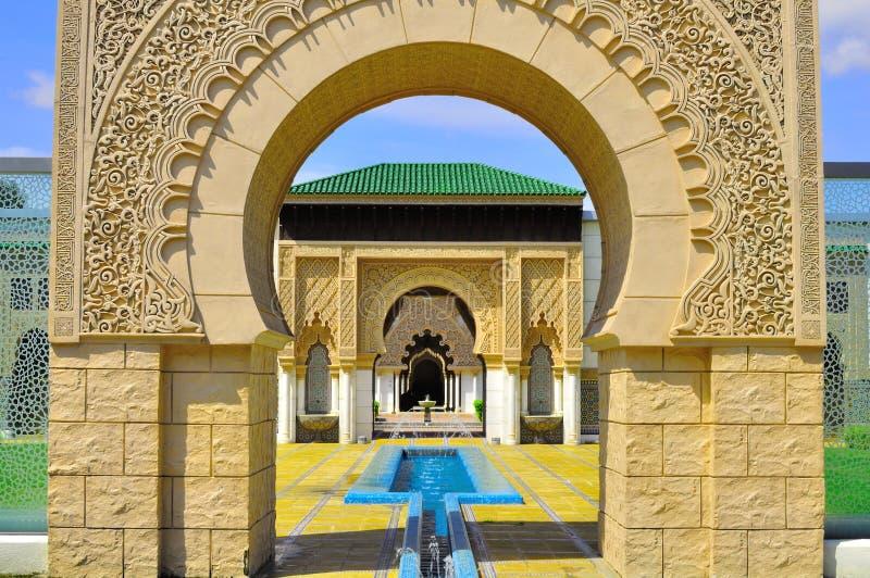 Background detail Moroccan gate entrance
