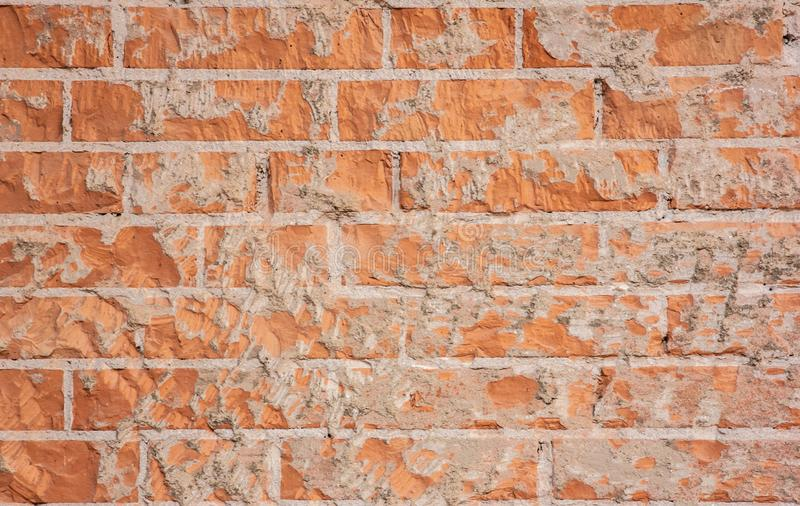 Background with details of worked stones or walls. stone is one of the first materials used by man. details shot in an art institu. Te in Venice royalty free stock image