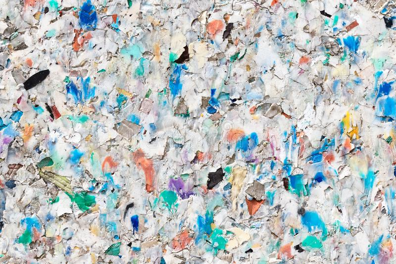 Recycling Plastic Pellets Background stock images