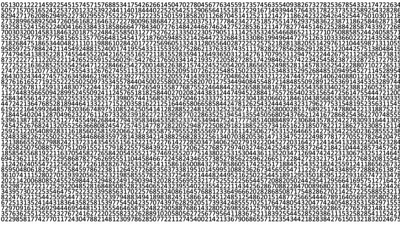 Background of the digits stock illustration
