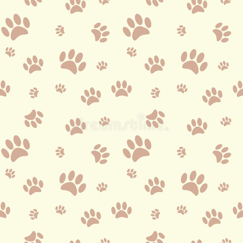 Background with dog paw print and bone stock vector illustration download background with dog paw print and bone stock vector illustration of pattern path voltagebd Gallery