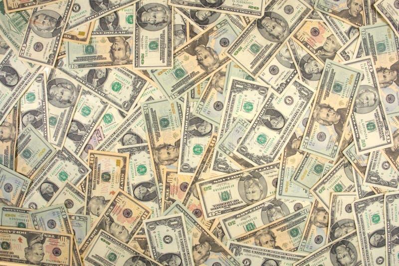 background dollar 免版税库存照片