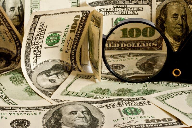 Background of dollar
