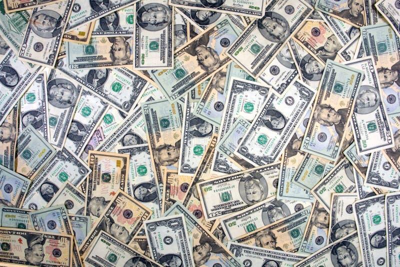 background dollar royaltyfri foto