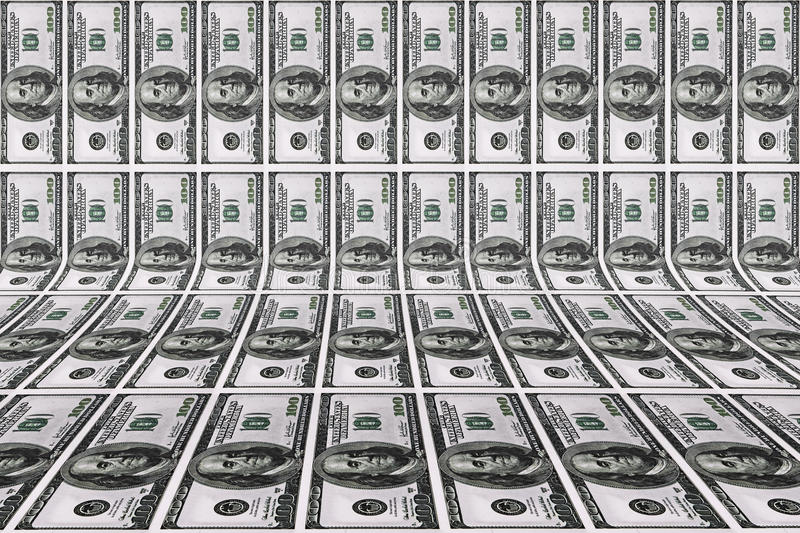 Download Background With Dollar Bills Stock Illustration - Image: 31916523